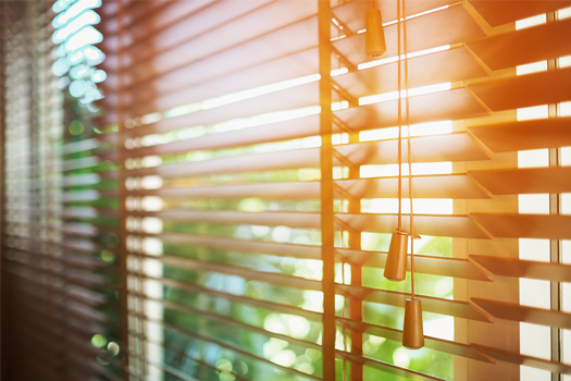 HVAC Service Roswell Sun Coming Through Blinds