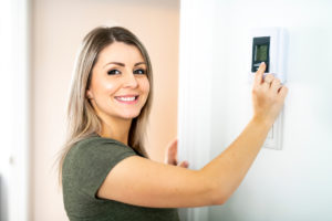 HVAC Services in Roswell GA-thermostat