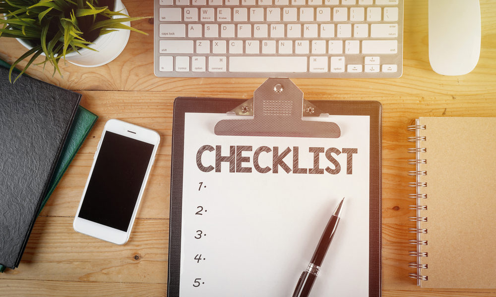 Making a HVAC Checklist Can Save You Time and Money